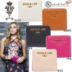 NICOLE LEE ニコールリー ウォレット P6118 ニコルリーミニ財布 二つ折りポケット財布 バイカラーさいふ レディース コンパクトサイズ インポート 海外