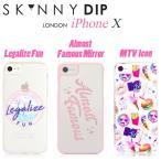 SKINNYDIPスキニーディップ スタバJulia MichaelsMTV X10iPhoneアイフォンイギリスasos掲載クリアハードケースカバー日本正規代理店星軽量スリムミラー