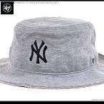 ショッピングBrand 47 Brand ハット 47 Brand バケットハット YANKEES '47 HIKER KHOCKDOWN BUCKET/47ブランド MLB ハット/YANKEES/ニューヨーク/ヤンキース/