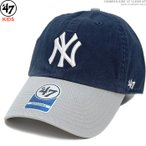 47 Brand キャップ キッズ用 ヤンキース 田中将大 YANKEES KIDS '47 CLEAN UP