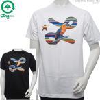50%OFFセール LRG Tシャツ エルアールジー 半袖Tシャツ SPECTRUM PARROT TEE