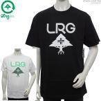 50%OFFセール LRG Tシャツ エルアールジー 半袖Tシャツ STACK LOGO TEE