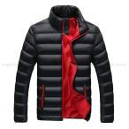 秋冬人気 ジャケット メンズ 軽量 大きいサイズ コート メンズ ショート丈 薄て ダウン綿ジャケット メンズファション 2016秋冬新作