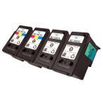 キヤノン BC-340XLBK(ブラック) BC-341XLCL(カラー) 各2本 合計4本セット 純正カートリッジ(リサイクル・再生品)残量表示付