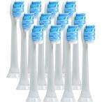 ソニッケアー 替えブラシ 電動歯ブラシ用 互換 フィリップス Philips 12本セットプロリザルツ ガムヘルス HX9034