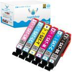 エプソン SAT-6CL (BK/C/M/Y/LC/LM 6色) 6本セット サツマイモ EPSON 互換インクカートリッジ 残量表示 ICチップ付 印刷