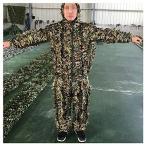 カモフラージュカモ岬、3Dスーツ、スナイプ待ち伏せに適した森林軍隊シューティングハンティング写真、ジャングルカラー