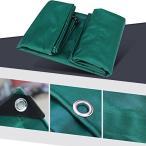 JIANFEI オーニング 防水 耐寒性耐摩耗性老化防止ポリエステルPVC、厚さ0.5mmカスタマイズ可能 (色 : Green, サイズ さいず