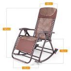 ロッキングチェアリクライニングチェアバルコニー安楽椅子大人折りたたみ昼休み椅子レジャ