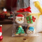 クリスマス アイシングクッキー 4個入り (10%OFF)