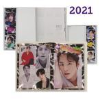 チャングンソク ダイアリー 手帳 2021 カレンダー 韓流 グッズ fx005-31