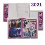 BTS 防弾少年団 ダイアリー 手帳 2021 カレンダー 韓流 グッズ fx036-31