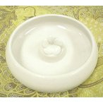 タバナン 灰皿 フランジパニ ホワイト アジアン雑貨 バリ雑貨 おしゃれな かわいい灰皿