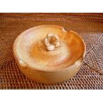タバナン 灰皿 フランジパニ ブラウン アジアン雑貨 バリ雑貨 おしゃれな かわいい灰皿