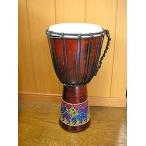 ジャンベ 太鼓 ドットペイント M H.50cm アジアン雑貨 バリ雑貨 アジアの楽器