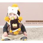 子供ニット帽子 マフラーキッズ帽子 子供 ベビー帽子 女の子 男の子  赤ちゃん 帽子 ベビー 帽子 秋冬 ニット帽子  クリスマス  帽子
