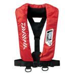 【送料無料4】ダイワ ウォッシャブルライフジャケット (肩掛けタイプ手動・自動膨張式) DF-2007 フリー レッド