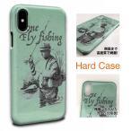 フライフィッシングとレインコート スマホケース 釣り 魚 ルアー iPhone7 ケース iPhone7 Plus iPhone6s iPhone6s Plus iPhone SE