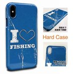 【I love Fishing Blue 】iPhone7 iPhone7 Plus iPhone6s iPhone6s Plus iPhone SE Xperia Galaxy AQUOS
