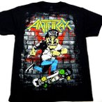 ANTHRAX アンスラックス  SKATER GUY  オフィシャル バンドTシャツ