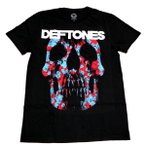 DEFTONES デフトーンズ  MINERVA ROSE SKULL オフィシャル バンドTシャツ 【2枚までメール便対応可】