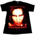 【メール便対応可】MARILYN MANSON マリリンマンソン BIGGER THAN SATANオフィシャルバンドTシャツ【正規ライセンス品】