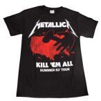 METALLICA  メタリカ    KILLEM ALL TOUR 83'  オフィシャル バンドTシャツ