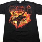 PANTERA  パンテラ   GUITAR SNAKE  オフィシャル バンドTシャツ