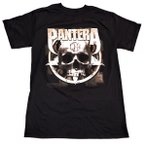 PANTERA パンテラ METAL SKULLオフィシャルバンドTシャツ【正規ライセンス品】