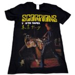【メール便対応可】SCORPIONS スコーピオンズ TOKYO TAPES オフィシャルバンドTシャツ【正規ライセンス品】