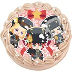 「DAME×PRINCE(ダメプリ)」クリスマスキャラクターケーキ(全3種)