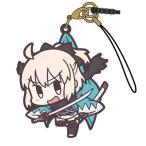 Fate/Grand Order セイバー/沖田総司 つままれストラップ