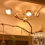 【リモコン・LED電球付き おしゃれ 照明 5灯 シーリングライト IREPENT スポットライト LED対応 6畳 8畳 ひとり暮らし】
