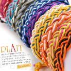 【新規開店SALE】ミサンガデザインのブレスレット♪ 編み込みブレスレット