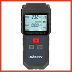 KKmoon 放射能測定器 emf デジタルLCD電磁放射 テスター 電磁波測定器 警報機能付き
