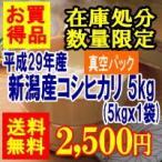 セール品 新潟産コシヒカリ(真空パック)5kg(平成26年産)