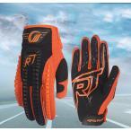 送料無料 バイクグローブ メンズ 春夏秋 バイク用品  ライディング ツーリング メッシュ ナイロン 手袋 通気性 プロテクター付く glove 大きいサイズ オレンジ