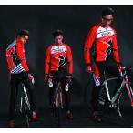 サイクルジャージ パンツ  サイクルウエア ユニセックス 長袖 上下セット 自転車ウエア ロードバイク クロスバイク サイクリング 送料込 男女兼用
