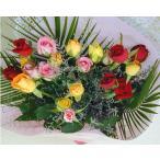 誕生日の花 薔薇 歳の数 選べる MIX バラ ギフト 花束 バースデー ギフト プレゼント 贈り物