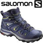 サロモン X ULTRA 3 WIDE MID GTX W ハイキング&マルチファンクション シューズ レディース L40129600