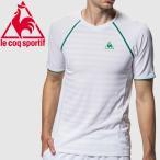 ルコック 半袖シャツ メンズ QTMNJA08-WHT