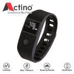 ★Actino(アクティノ)  ヘルスケアバンド 手首で測れる心拍+活動量計リストバンド   WB001 時計