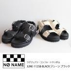 NO NAME ノーネーム ラグジュアリーコンフォートサンダル JUNE-11258 送料無料 21SS