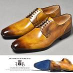 ドレスシューズ メンズ 革靴 本革 靴 紳士靴 プレーントゥ イタリア靴
