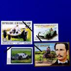 海外切手 メルセデスベンツ切手4種 #114