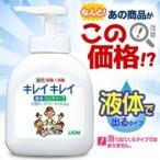 なんと!あの【ライオン】キレイキレイ 薬用液体ハンドソープ 本体ポンプ 250ml が数量限定の大特価!