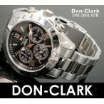 ダンクラーク メンズ 腕時計 2051-07R ピンクゴールドインデックス クロノグラフ 正規品don clark ウォッチ DON CLARK 時計 保証付