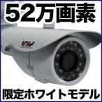 防犯カメラ 監視カメラ/52万画素 暗視・防水・屋外 SX-VBM41Rw バレット