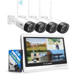 防犯カメラ 200万画素 ソーラー充電 電源不要 屋外 防水 WIFI ワイヤレス ネットワーク 監視カメラ 人感録画 完全コードレス トレイルカメラ VIEW-TP-L4