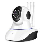 防犯カメラ ワイヤレスカメラ スマホ・PCで遠隔監視 WiFi無線接続 IP WEB カメラ 暗視 防犯セキュリティ 録画機不要 監視カメラ SDカード録画 ls-f21